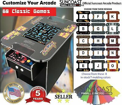 Classic Cocktail Arcade Machine With 60 Games: Ms. Pac-Man, Galaga, Donkey Kong