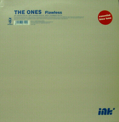 "The Ones - Flawless Extended Club Mix 12"" Maxi Single Rare Spain 2001 Mint"