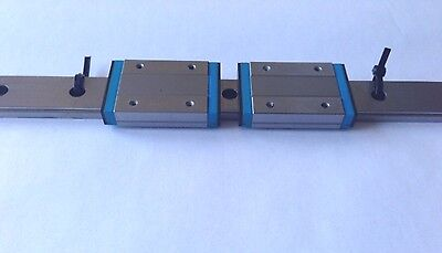IKO Japanese Linear Rail with Two Bearings