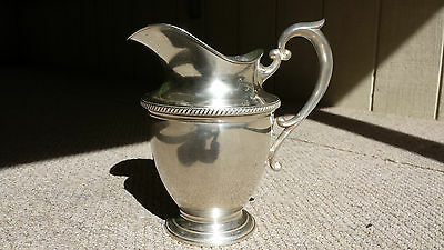Beautiful Sterling Silver Pitcher by Hunt Silver Company 1930's-1954