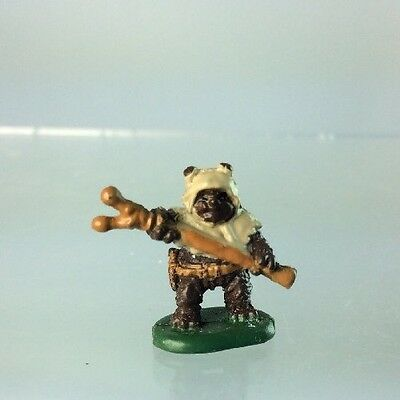 Star Wars Micro Machines EWOK Paploo Sling Thrower Endor Return Jedi Galoob BC