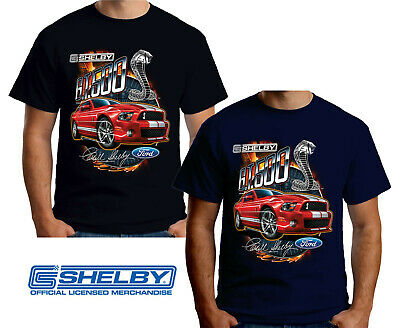 Velocitee Mens T-Shirt Ford Mustang 65 Convertible Down Blueprint Outline FM05