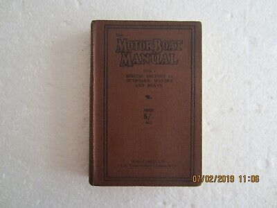 The Motor Boat Manual-Temple Press-1931-10Th Edition