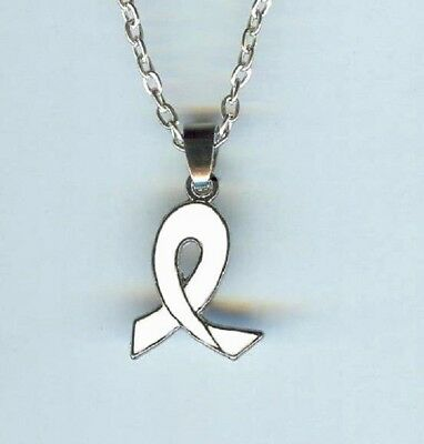 AWARENESS RIBBON TREE of Life Necklace, Cancer Hope Cure