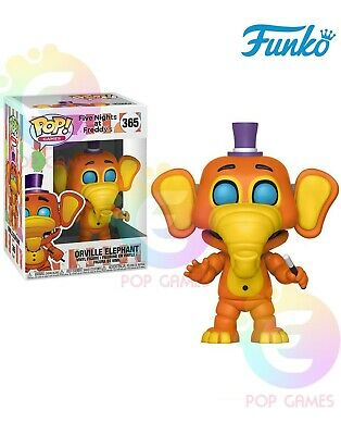 ORVILLE ELEPHANT #365 Funko POP Games Five Nights at Freddy's PIZZA SIM Vinyl
