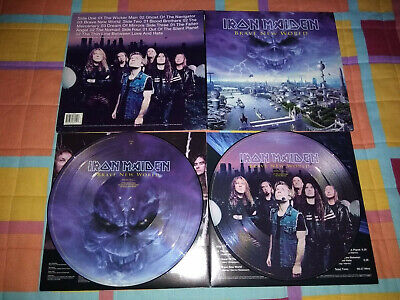 Iron Maiden Brave New World 2 Lp Picture Disc 1St Press Signed Emi 2000 Metal