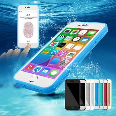 360° Waterproof Shockproof Hybrid Rubber TPU Case Cover For iPhone XS Max 8 7 6