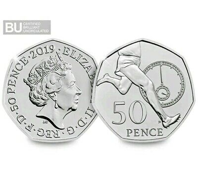 2019 Celebrating 50 Years Roger Bannister 50p Fifty Pence Coin BUNC Uncirculated