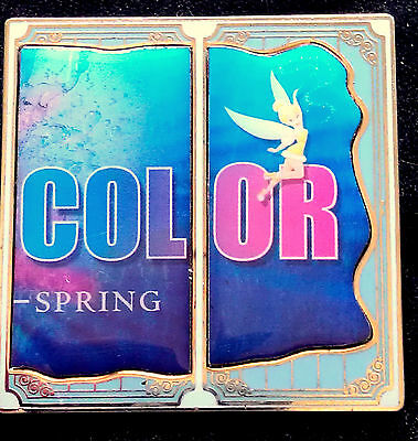 Disney California Adventure World Color Billboard Tinkerbell ONLY Pin DLR DCA