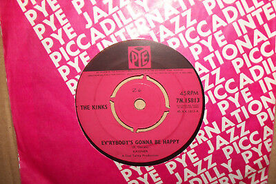 The Kinks,  Everybodys Gonna Be Happy,  Pye Records 1965