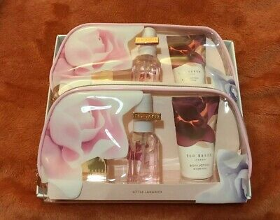 2 X Ted Baker Little Luxuries & Fresh Gift Set - Both With PVC Bag❤️