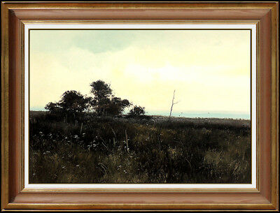 Michael Coleman Oil Painting on Board Original Landscape Signed Vintage Artwork