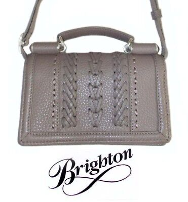 NWT Brighton RICHMOND MINI ORGANIZER Off White Detachable Strap MSRP $190