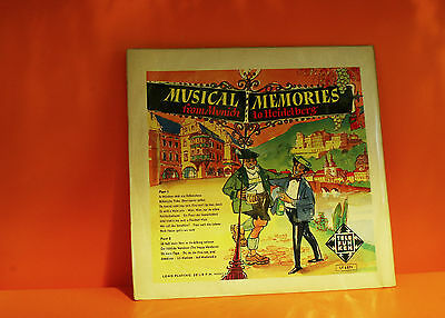 Musical Memories From Munich To Heidelberg - Telefunken - With Book Lp Vinyl -O