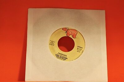 "Eric Clapton & His Band - Promises / Watch Out For Lucy   - 7"" single 45"