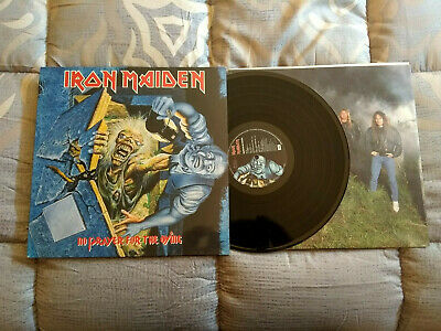 Iron Maiden No Prayer For The Dying Lp Spain 1St Press Emi 1990 Heavy Metal