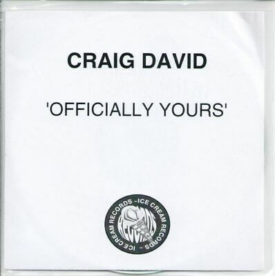 Craig David - Officially Yours (2008,CD-R,Promo)
