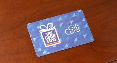$100 Good Guys Gift Card Blue   Life Time No Expiry   Instore/Online
