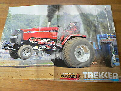 A589 Case Iii Mx270 Extreme Temptation Pulling Tractor Trekker  Poster