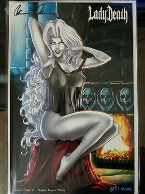 Lady Death Mischief Night Naughty Edition 70/300 - signed -  * NM / Unread *