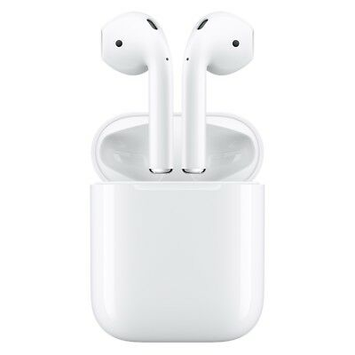 Apple MMEF2AM/A AirPods with Charging Case Bluetooth Wireless AirPods FREE SHIP™