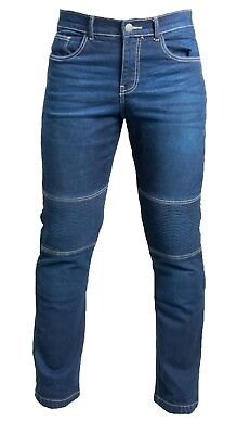 FLEX Motorcycle Jeans, Motorbike Jeans Mens Trousers Protective Lining