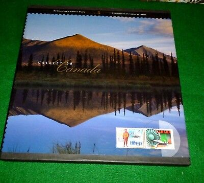 Canada Stamp Year Book 1996 Canada Stamp Collection Book 1996 Postage Year Book