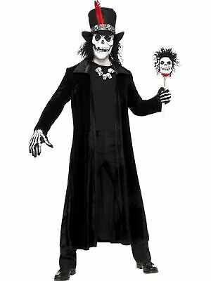 Voodoo Witch Doctor Mens Halloween Horror Fancy Dress Costume Party Outfit Adult