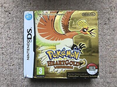 OITER BOX ONLY Pokemon Heartgold - Nintendo DS Box Only (B)