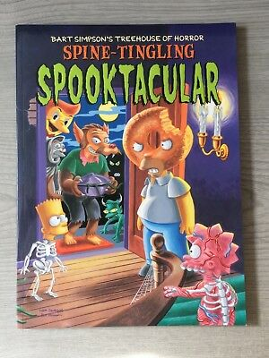 Spine-tingling Spooktacular Bart Simpson's Treehouse of Horror Paperback Comic