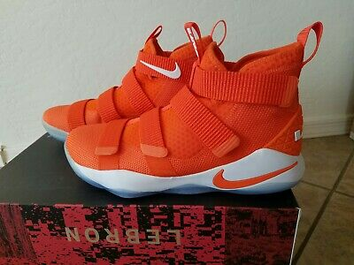 check out c273c 56f53 NEW  Nike LeBron Soldier XI 11 TB PROMO Size 10.5 Orange White 943155-804