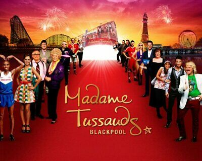 2 Tickets to Blackpool Tower Eye & Blackpool Madame Tussauds Friday 16th August