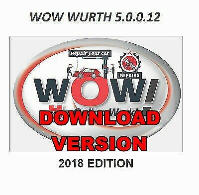 WOW WURTH VERSION 5 00 8R2 SNOOPER 2019 Diagnostic software