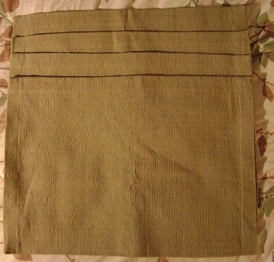 Pottery Barn Green Cloth Placemat (4) and Cloth Napkin (5) Set