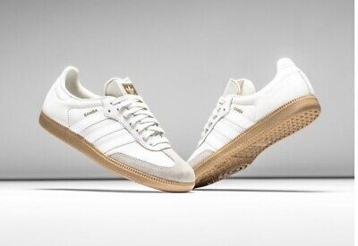 new concept b0a5e 8dde2 Adidas Samba OG Classic Lifestyle Indoor Shoes Sneaker Vintage White Size  10.5