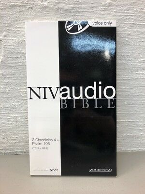 NIV AUDIO BIBLE Voice Only by Zondervan 2 Chronicles 4 to Psalm 106