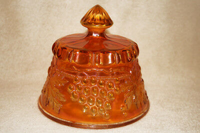 Northwood Grape and Cable table set Marigold butter dish [lid only]