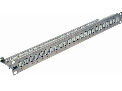 3M Patchpanel 24 Ports 1HE 43018-801 26 Kupfer 7100064994 Patchpanel