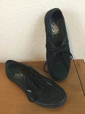 af57a41852 Vans Authentic Lo Pro All Black skate Shoes Size Women s 6.5 Free shipping  US