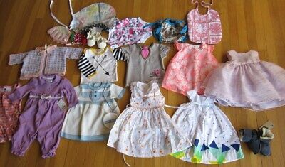 Lot of Baby Girls Clothes Lauren Catimini Marmellata Emu Size 0-3 3-6 Month Size