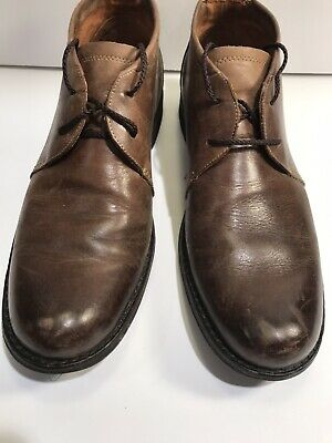 84d52feb32 Timberland Earthkeeper Leather Laced City Ankle Chukka Boots Mens Sz 8.5M