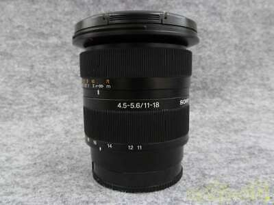 Sony Dt 11-18mm 4.5-5.6 Wide-Angle Zoom Lens