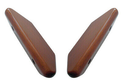 Pair of Hand Crafted Wood Armrests - Set for Early Kenworth Trucks