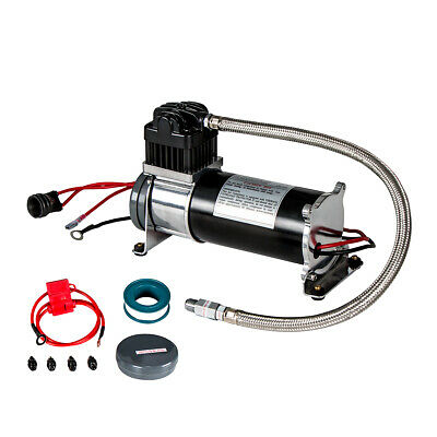 Heavy Duty 12V 140 PSI Air Compressor Motor Kit for Train Horn & Off Road
