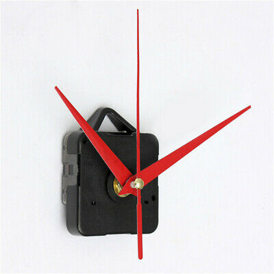 Wall Clock Quartz Movement Mechanism Battery Operated DIY Repair Part Set Black