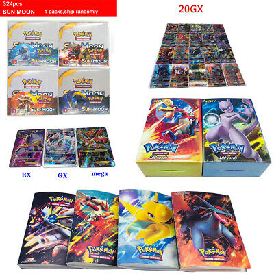 20/60/200/324 GX Trainer EX Mega Pokemon Cards Bundle,Rare Bulk Joblot Base
