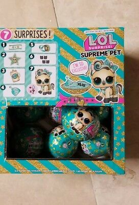LOL Surprise Limited Edition SUPREME PET Series Lucky Luxe Ball IN STOCK!