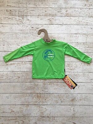 O'neill Toddler Skins S//Sleeve Rash T Shirt Age 2//3 New Code 4323 Dayglo Green