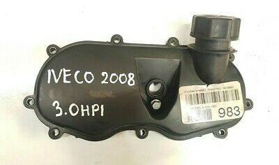 Iveco Daily 3.0 Hpi F1Ce0481F Oil Filler Neck Cover Genuine 504087606 / 2008