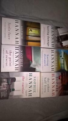 6 paperbacks by by Sophie Hannah